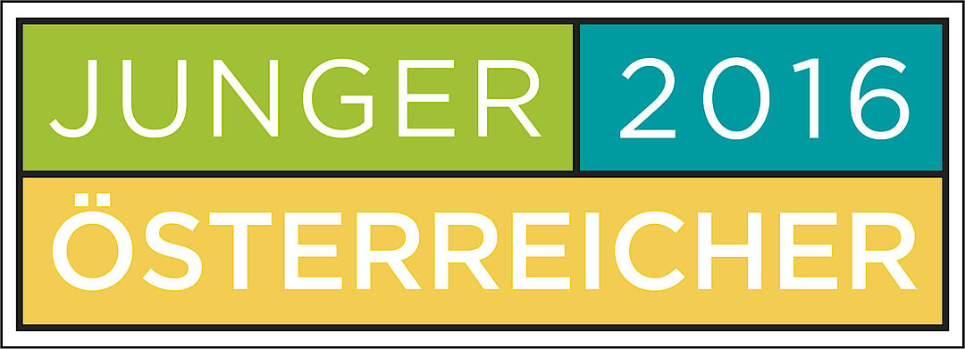 A picture shows the Junger Österreicher logo 2016