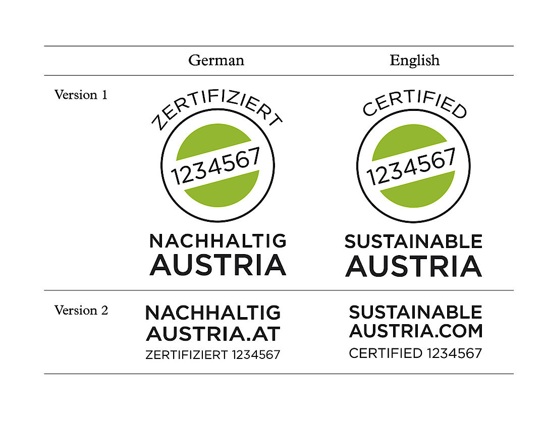 Sustainable austria certified sustainable austrian wine logos sustainable austria austrian winegrowers association 1betcityfo Images