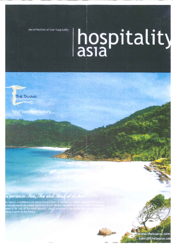 "[Translate to English:] Cover ""Hospitality Asia"""