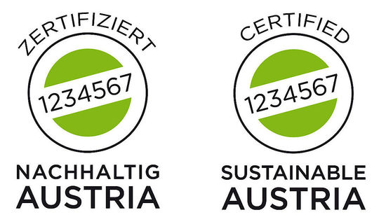 "Logo ""Sustainable Austria"""