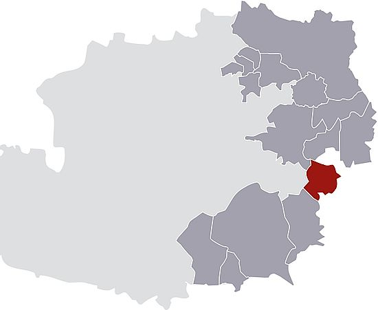 A picture shows the Mittelburgenland DAC region