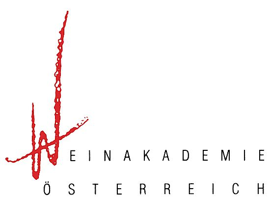 A picture shows the logo of the Weinakademie Österreich