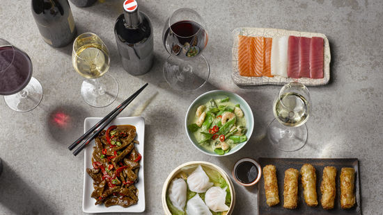 Asian Cuisine & Wine