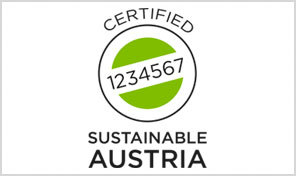 A picture shows the Sustainable Austria Logo